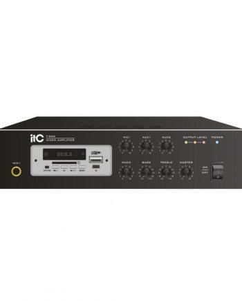 CONTRACTOR AUDIO T-B60 - Mini amplificador 60w 4-16 ohms usb/sd bluetooth