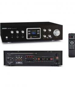 FONESTAR AS-123RUB - Amplificador estéreo hifi con función karaoke