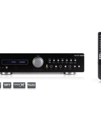 FONESTAR AS-170RU - Amplificador estéreo Hifi 2 x 80w 4 ohms usb/mp3/am/fm