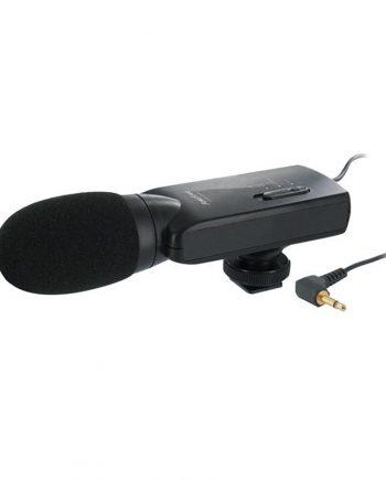 FONESTAR FCM-2500 - Micrófono de condensador electret para video cámaras