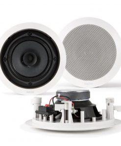 """FONESTAR GA-8029 - Altavoz de techo 8"""" 60w coaxial con tweteer"""