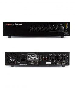 FONESTAR MA-125 - Amplificador de megafonía 4 lineas 120w