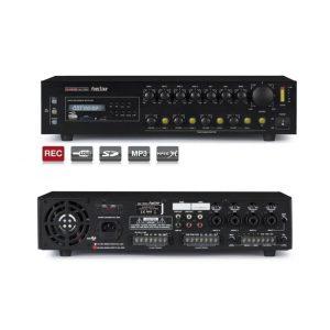 FONESTAR MA-125GU - Amplificador de megafonía 4 lineas 120w usb/sd/mp3