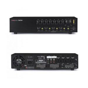 FONESTAR MA-245Z - Amplificador de megafonía 4 lineas 120w  selector de zonas