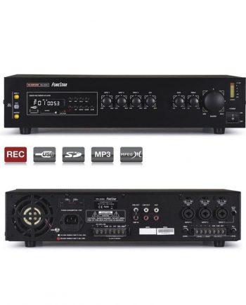 FONESTAR MA-65GU - Amplificador de megafonía 3 lineas 60w usb/sd/mp3
