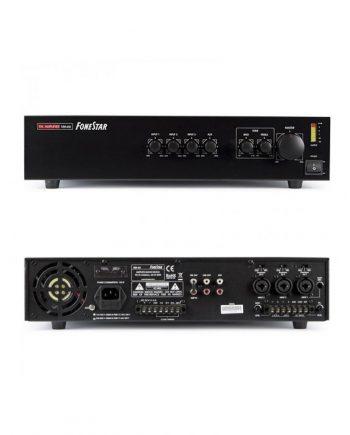 FONESTAR MA-66 - Amplificador de megafonía 3 lineas 60w