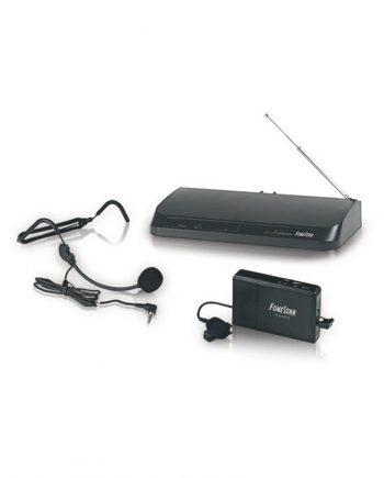 FONESTAR MSH-135 - Microfono inalambrico de diadema Vhf 11 canales