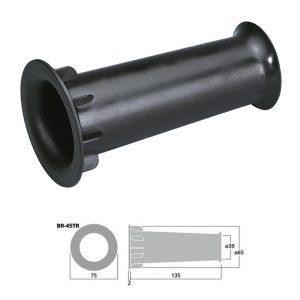 MONACOR BR-45TR - Tubo bass reflex Sv 13.8 cm2 color negro