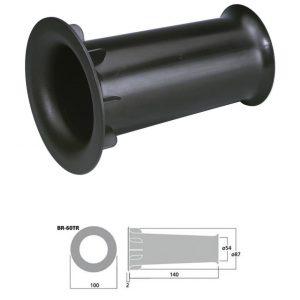 MONACOR BR-60TR - Tubo bass reflex Sv 26.4 cm2 color negro