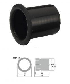 MONACOR MBR-45 - Tubo bass reflex Sv 15.9 cm2 color negro