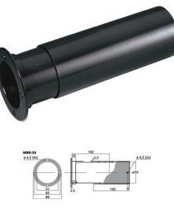 MONACOR MBR-50 - Tubo bass reflex Sv 20.4 cm2 color negro