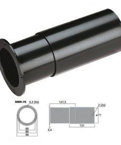 MONACOR MBR-70 - Tubo bass reflex Sv 34.2 cm2 color negro