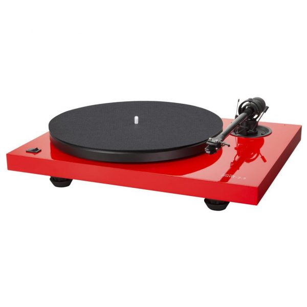 MUSIC HALL MMF 2.3 LE - Tocadiscos manual 2 velocidades color rojo