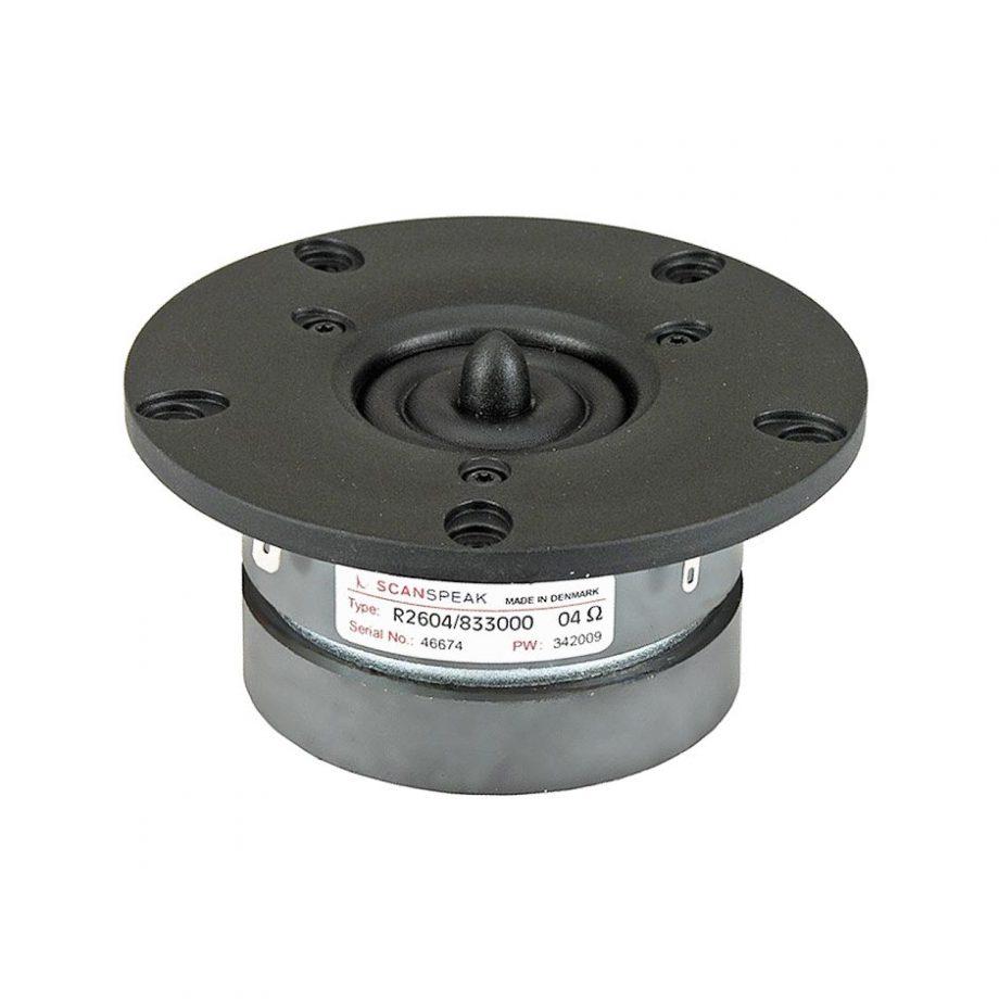 SCAN-SPEAK R2604/833000 - Tweeter ring radiator 1'' 100w 4 ohms